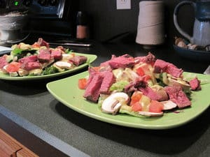Sous Vide Steak Salad