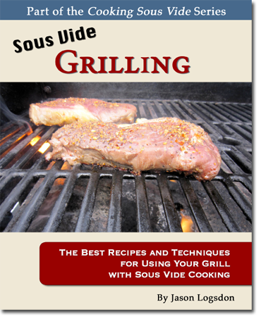 sous vide grilling book cover