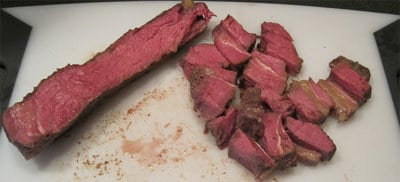 Sous Vide Freezer Steaks Recipe
